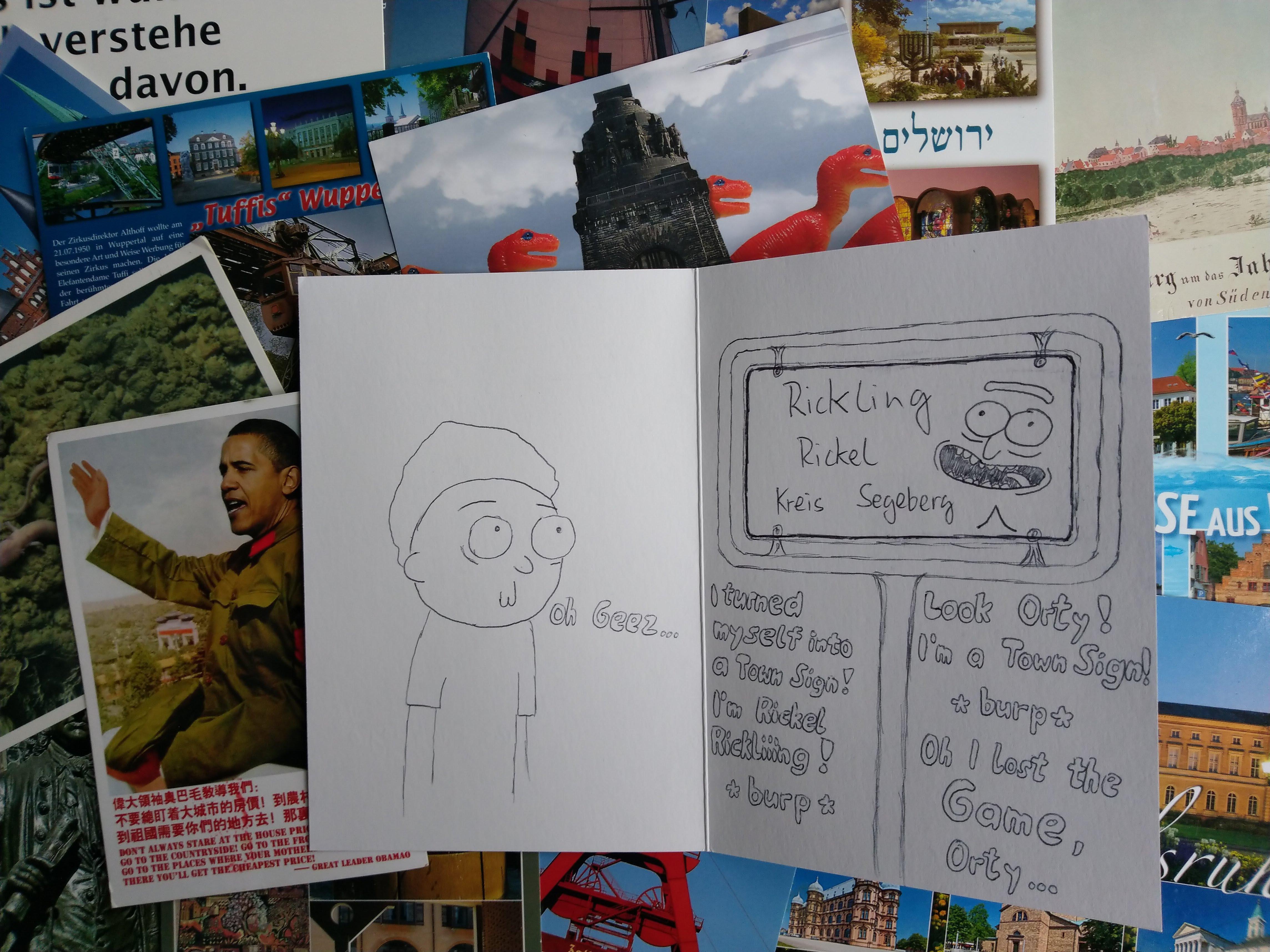 Postkarten 2018