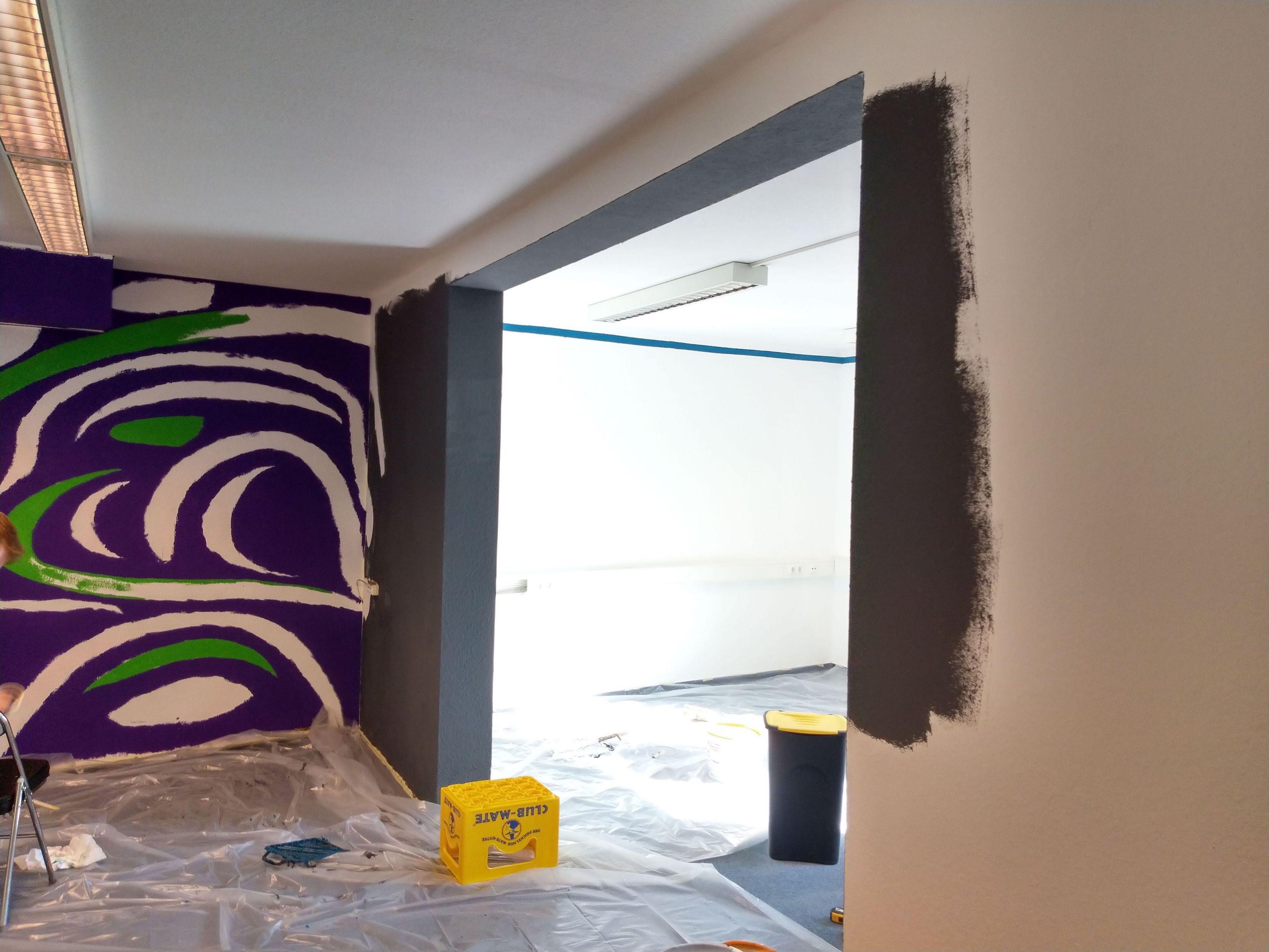 Das sogenannte Wartezimmer wird gestrichen