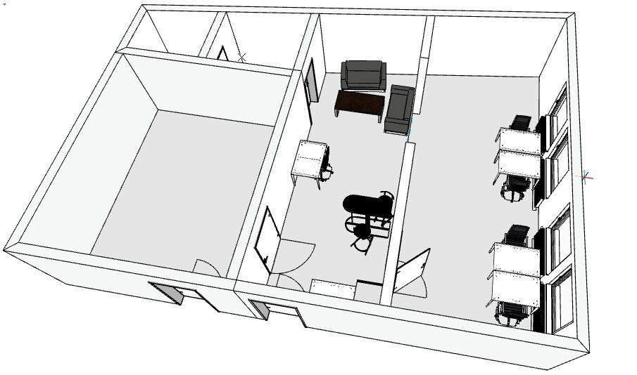 3D Model der neuen Räumlichkeiten