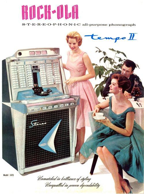 Image - Werbebild für die Rock-Ola.