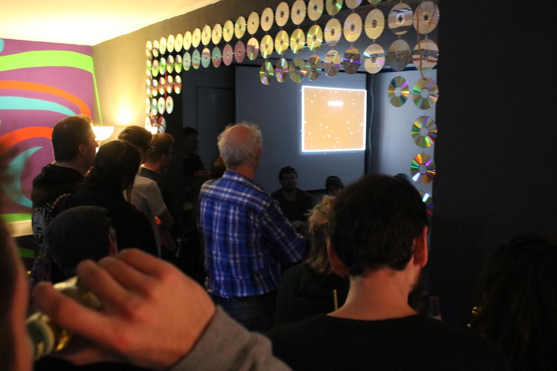 Einweihungsfeier des Nobreakspace in der Fackenbuerger Allee 11