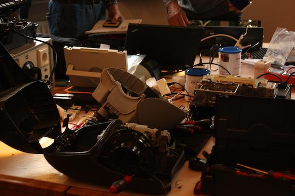 Arbeiten im RepairCafe